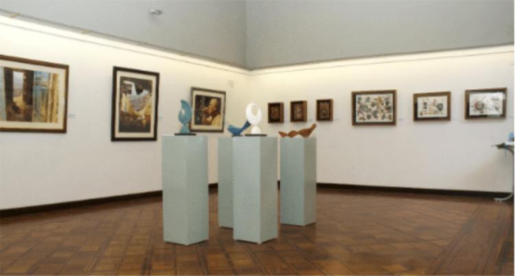 sala de arte del museo dei minerali andres del castillo