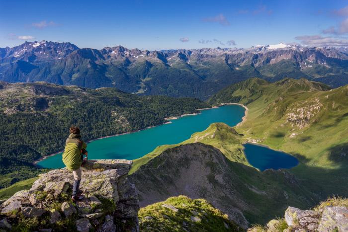 i laghetti della val piora nel Canton Ticino in Svizzera