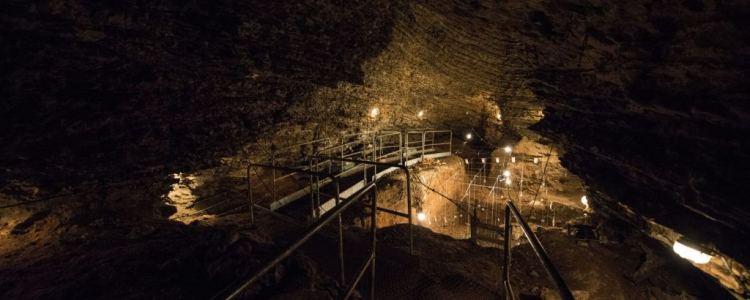 la grotta dell'orso sul Monte Generoso nel Canton Ticino in Svizzera