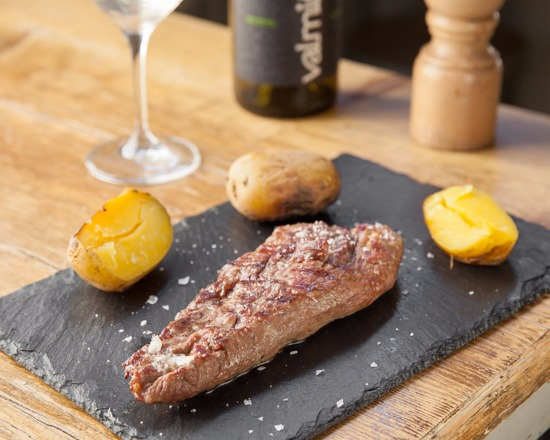 cucina argentina al Mercado de San Ildefonso