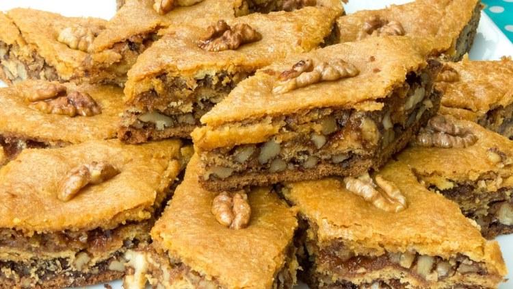 il bakllava dolce della cucina tradizionale albanese