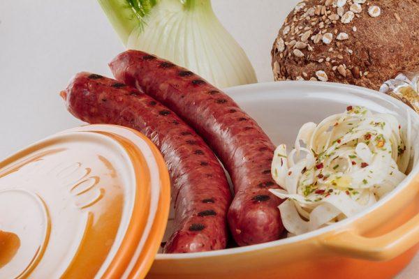 llukanik è il salame della cucina tradizionale albanese