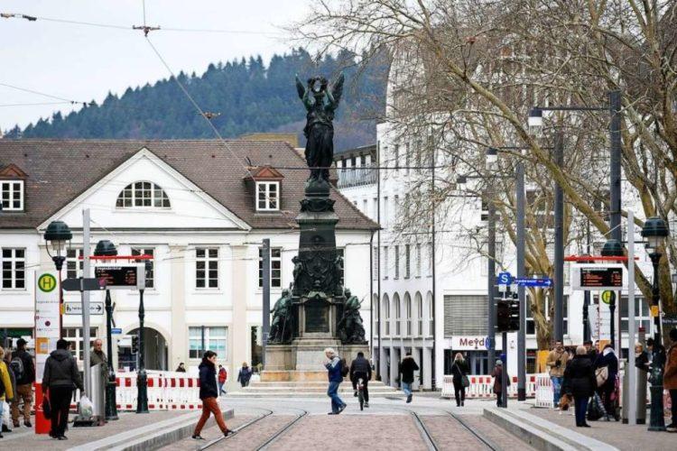 Europaplatz a Friburgo