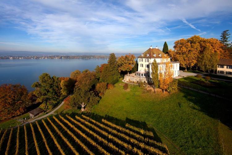 castello napoleonico di arenenberg sul lago di costanza