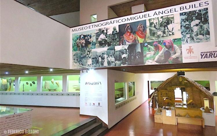 La Sala Introduttiva del Museo Etnográfico di Medellin