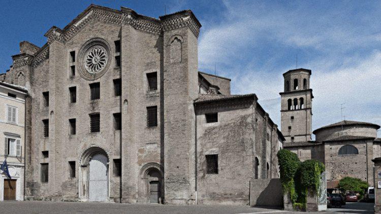 la chiesa di San Francesco del Prato, una delle location degli eventi di Parma 2020