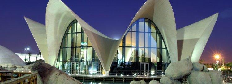 L'Oceanogràfic nella Ciudad de las Artes y las Ciencias