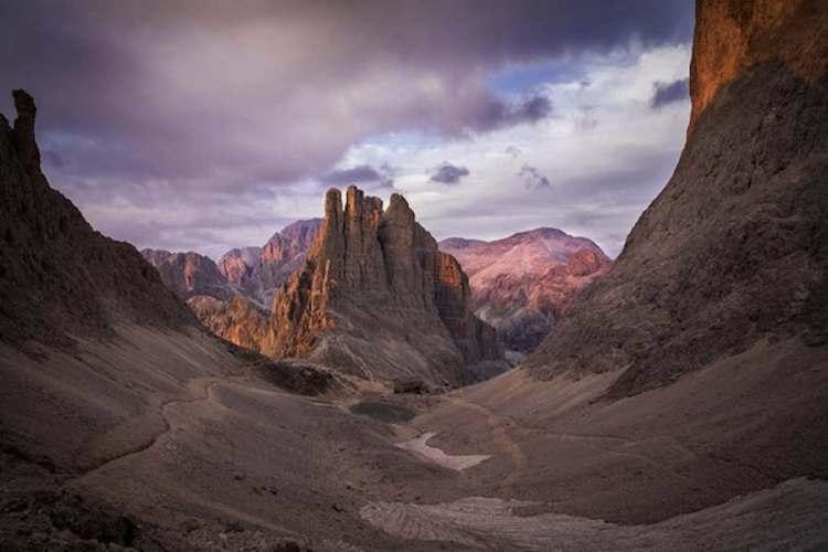 I panorami del Parco Naturale di Sciliar - Catinaccio in val di fassa