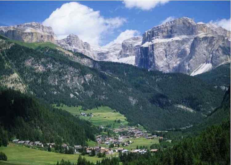 Mazzin nella bellissima Val di Fassa