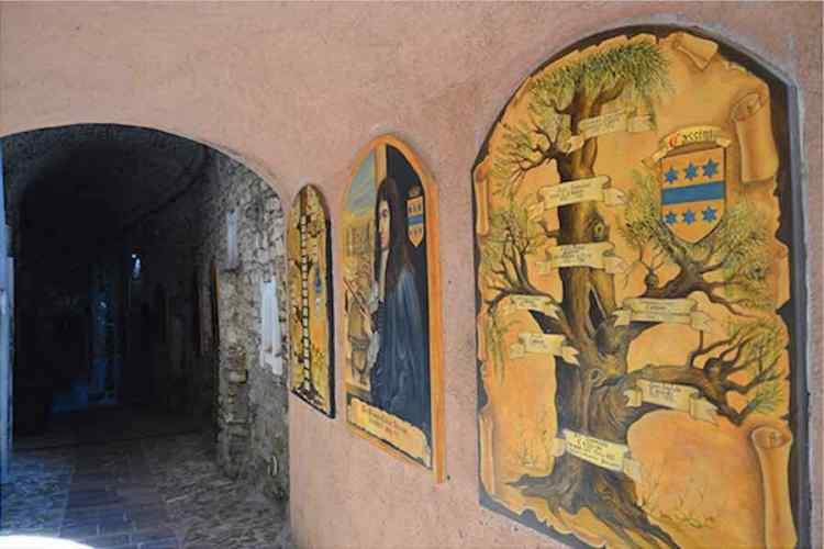 omaggio a gian domenico cassini nei vicoli del centro storico di perinaldo