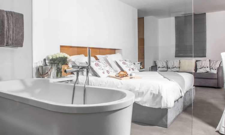 suite dell'hotel le mandla uno dei migliori hotel a saint tropez