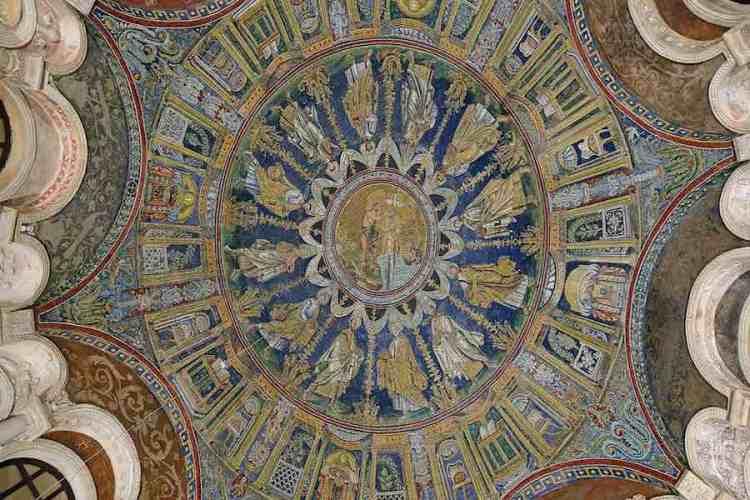 la cupola del battistero neoniano