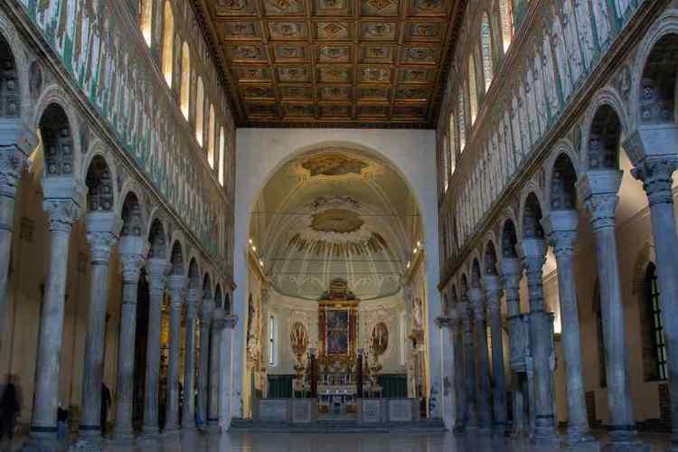 i mosaici di ravenna a sant'apollinare nuovo