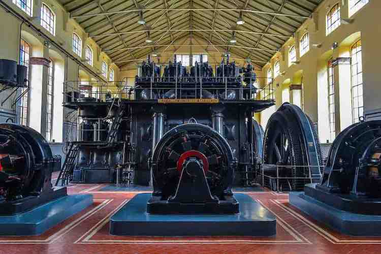 i tre motori della metro madrid