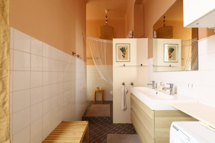 bagno dell'house of frame a fiera milano city