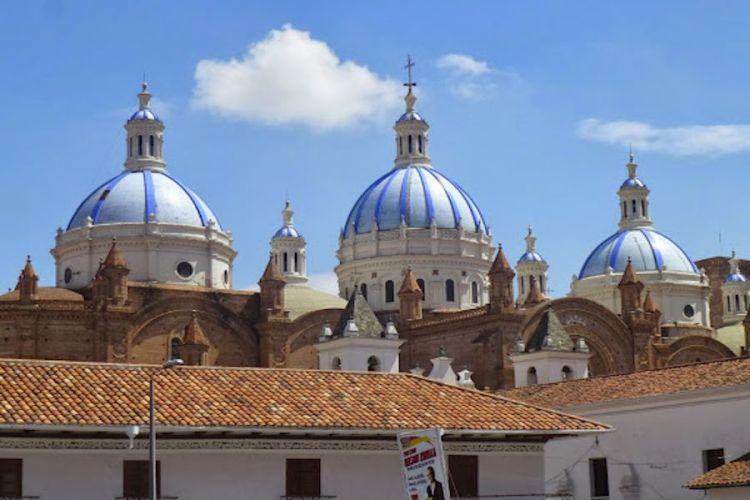 la bellissima cattedrale di cuenca