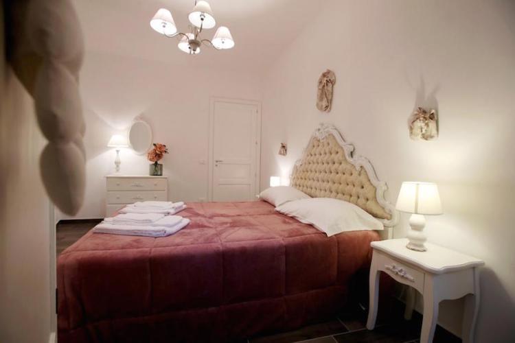 una camera del villa cinzia a mondello