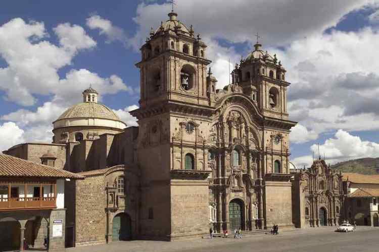la chiesa della compagnia di gesu di cuzco