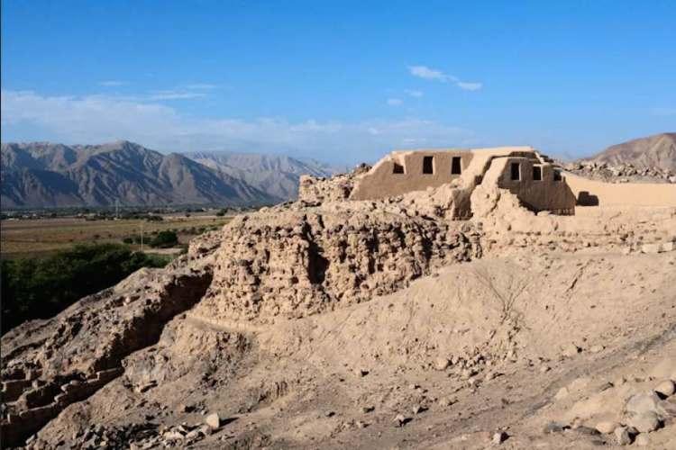 il sito archeologico los paredones nei dintorni di nazca
