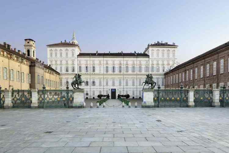 il palazzo reale di torino