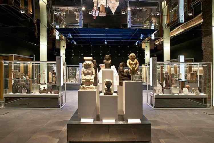una sala del museo egizio di torino