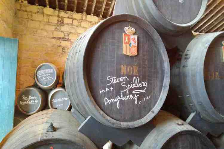 sherry gonzalez byass dedicato a steven spielberg jerez de la frontera