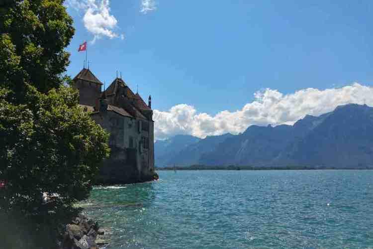 chateaux-de-chillon sul lago di lemán
