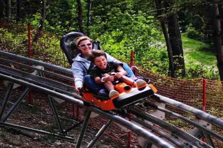 alpine coaster a bardonecchia