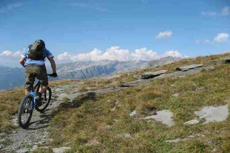 mountain bike valle di chamonix