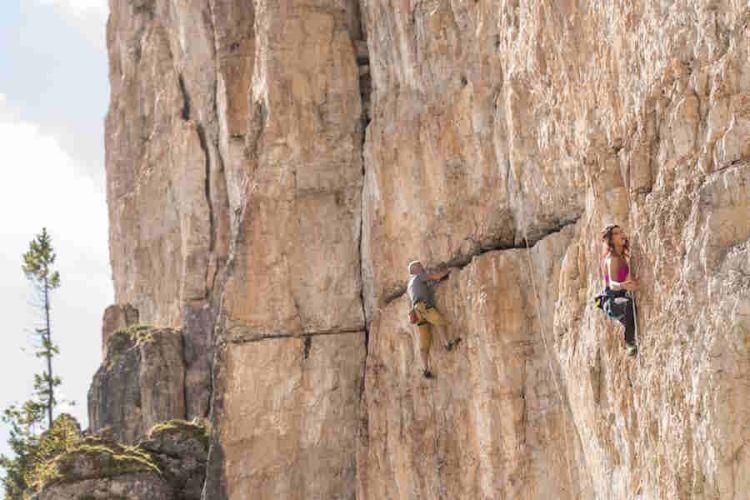 arrampicata sportiva a cortina