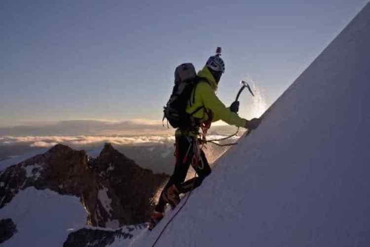 alpinismo sul monte bianco
