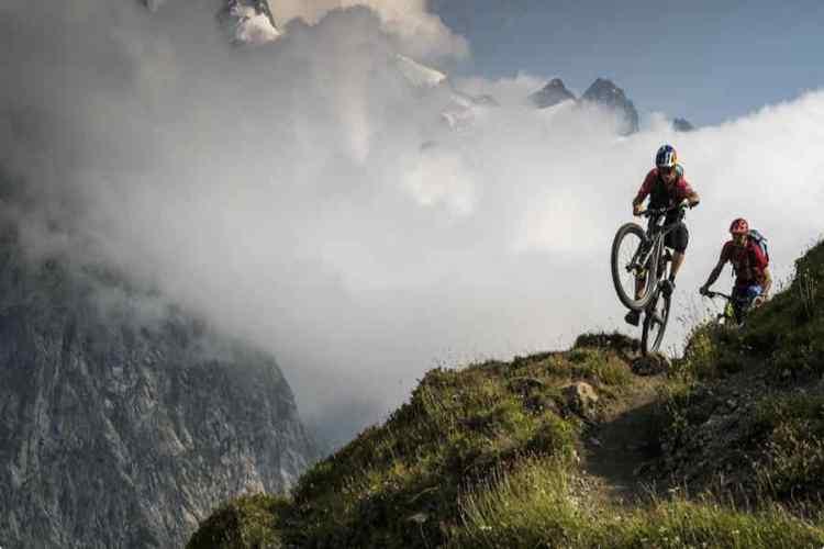 mountain bike a courmayeur