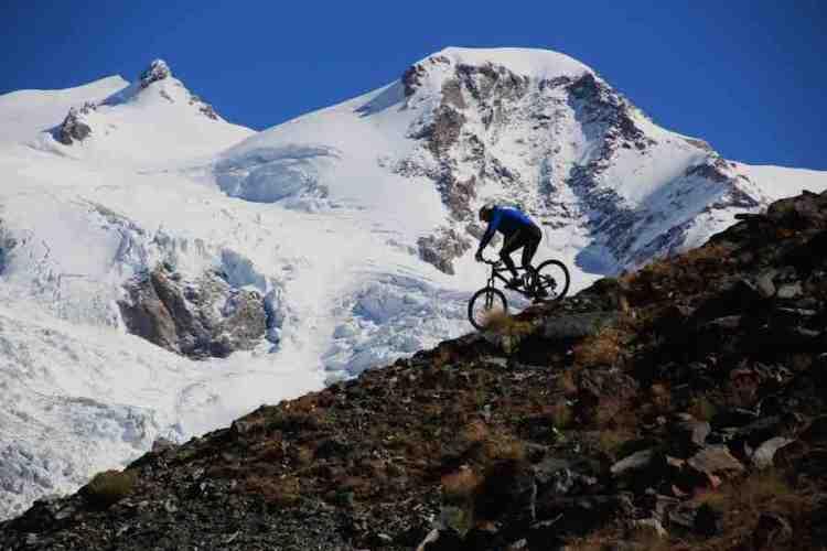 mountain bike a gressoney