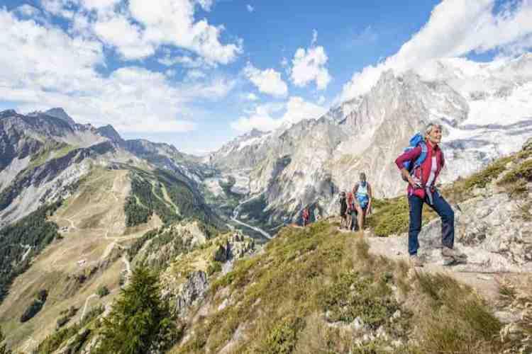 trekking a courmayeur