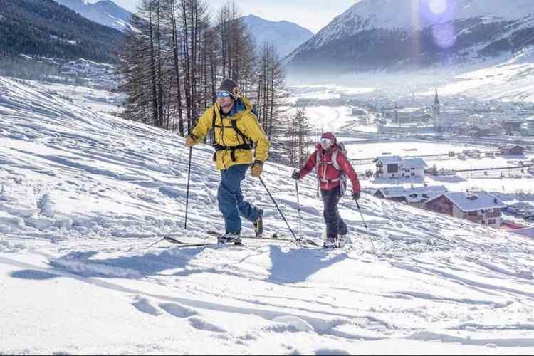 sci alpinismo a livigno
