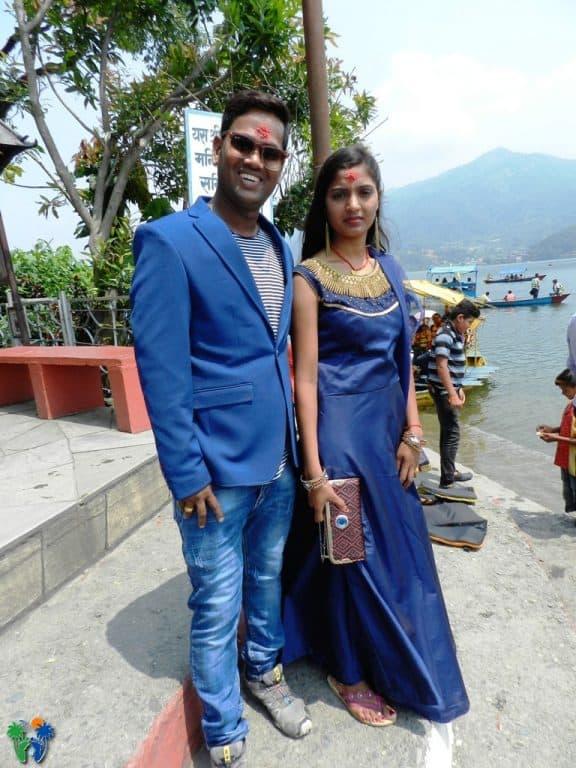 Coppia di sposi indiani
