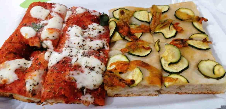 Margherita + Zucchine e fiori di zucca