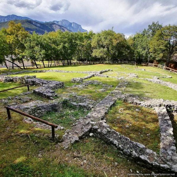 Resti della chiesa Paleocristiana