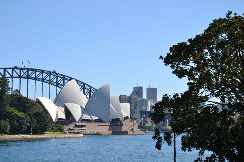 Sydney Opera House da Royal Botanic Gardens