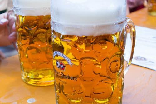 Un boccale di birra HB