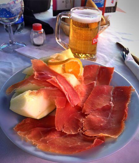 Pranzo sul Teide
