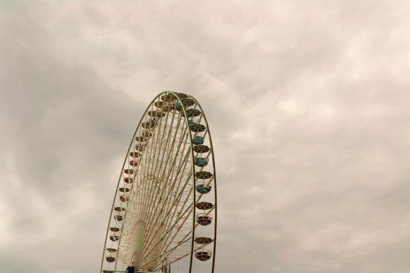 Ruota panoramica al Cannstatter Volkfest