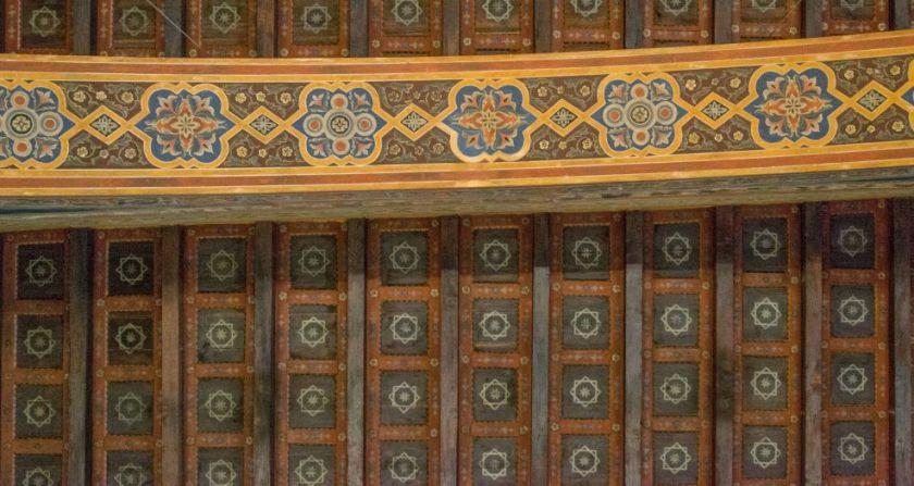 Il soffitto di Sala dei Notari