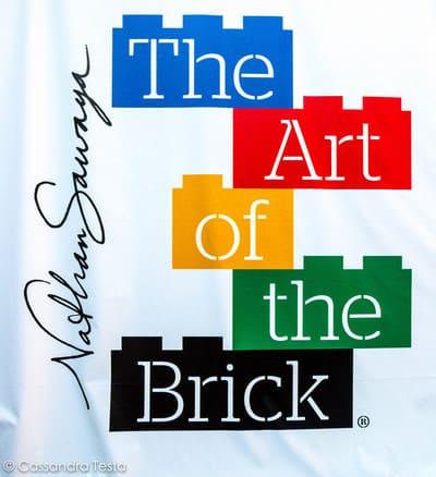 The Art Of The Brick Insegna