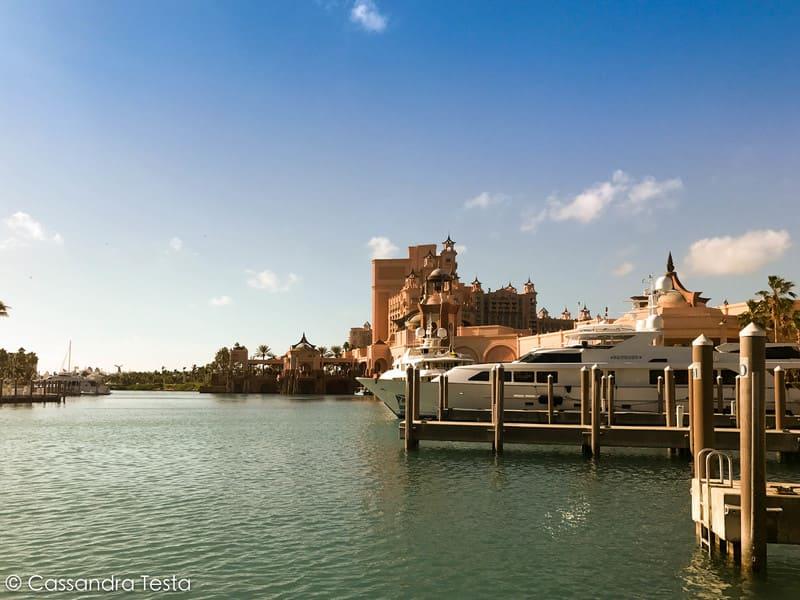 Un dettaglio dell'hotel Atlantis