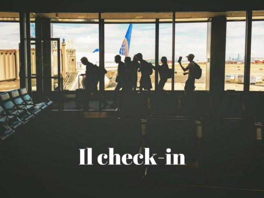 Il check-in