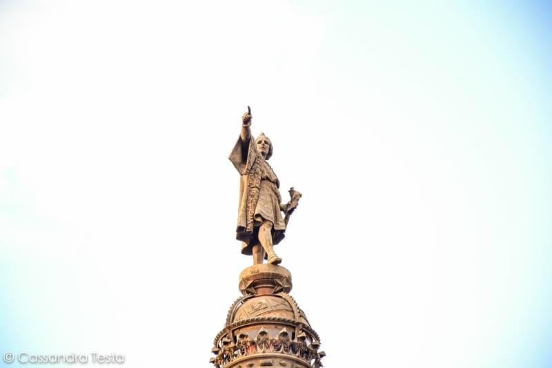 Cima Mirador de Colón, Barcellona