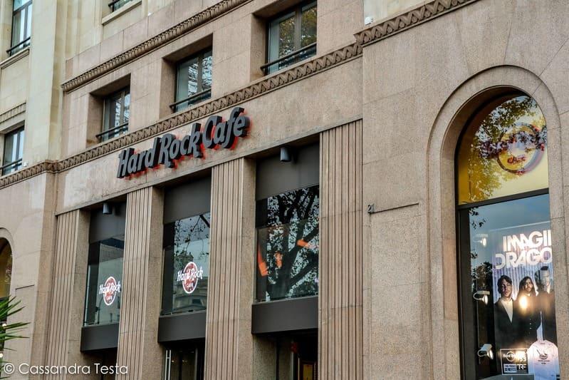 Hard Rock Cafè Plaça de Catalunya, Barcellona