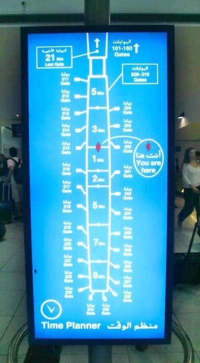 Indicazioni Dubai Airport