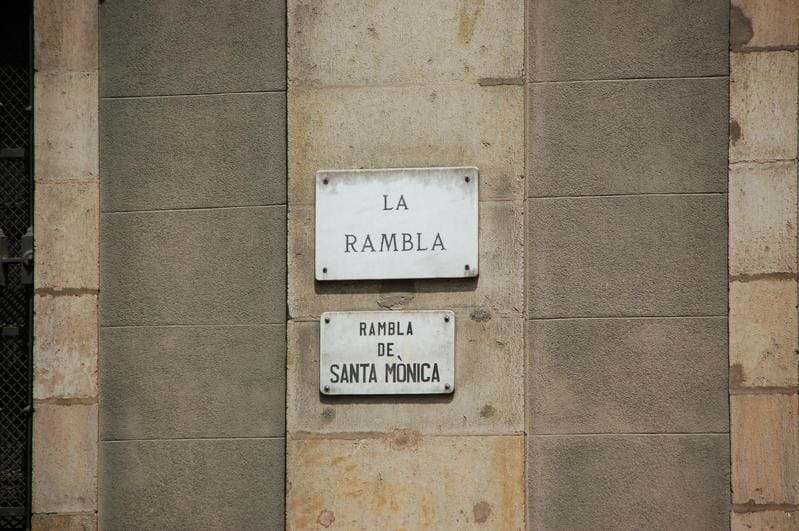 La Rambla, Barcellona